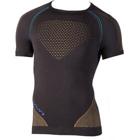 UYN M's Multisport Evolutyion UW SS Shirt Charcoal/Gold/Atlantic